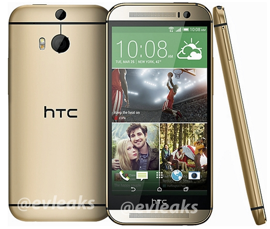 HTC-All-New-One-M8-goud