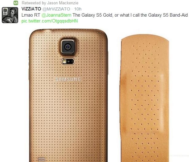 HTC-Samsung-Galaxy-S5-goud-plijster
