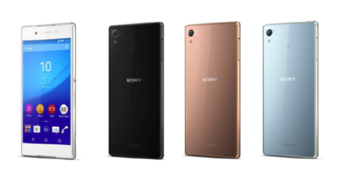 Sony-Xperia-Z4-vier-kleuren