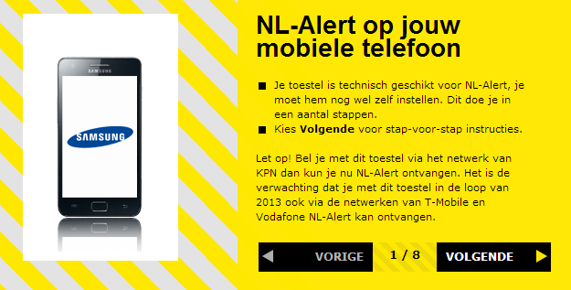 NL-Alert-instellen